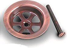 Acquastilla 113384 Copper Basket Grill with Screw,