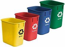 Acrimet Wastebasket Bin For Recycling 12L Plastic