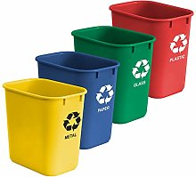 Acrimet Wastebasket Bin for Recycling 24L (Made of