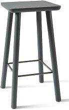 Acrocoro 66cm Bar Stool Atipico Colour: Grey