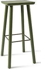 Acrocoro 76cm Bar Stool Atipico Colour: Green