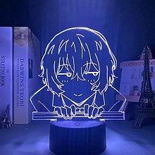 Acrylic 3D Night Light USB Battery Colorful LED