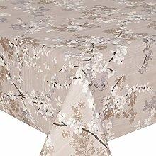 Acrylic Coated Tablecloth Blaze Jasmine 2.5 Metres