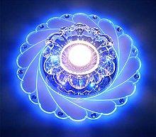 Acrylic Flower Ceiling Light Modern - LED Crystal