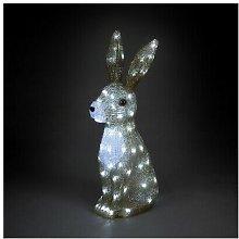 Acrylic Hare Christmas Outdoor Garden Decoration -