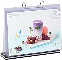 Acrylic Sign Holder,Table Top Menu Display Stand,