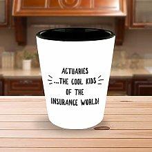 Actuarial Mug Actuary Mug Shot Glass Gifts for