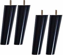 ACUIPP 4Pcs Wood Niture Legs,Wood Sofa Legs