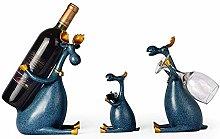 ACUIPP Countertop Resin Wine Bottle Holder,