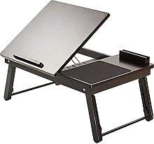 ACUIPP Folded Wooden Side Table,Breakfast Table