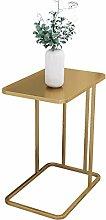 ACUIPP Metal C Table, Laptop Desk for Bedside
