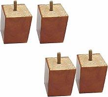 ACUIPP Solid Wood Niture Legs,Rubberwood Sofa