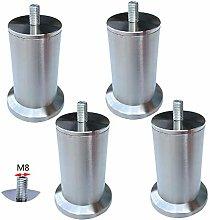 ACUIPP Stainless Steel Niture Legs,Adjustable