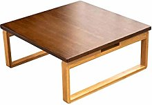 ACUIPP Wooden Side Tables,Natural Bamboo Coffee