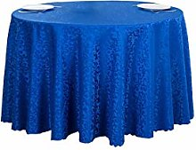 ACVIP Damask Jacquard Round Table Cloth Cover for