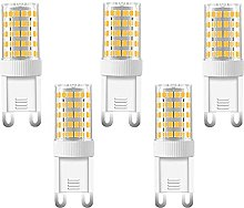 ACXLONG 10W G9 LED Light Bulbs Non-Dimmable, 100W