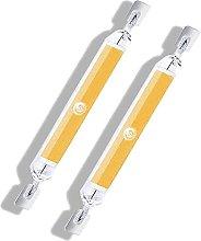 ACXLONG 10W R7s LED Bulb 78mm COB Filament Natural