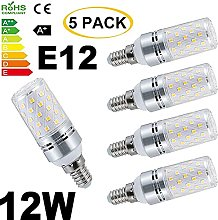 ACXLONG Non Dimmable E12 Candelabra LED Bulbs 120