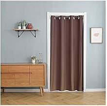 Acyoung Door curtain with telescopic rod, no