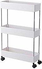 ACYOUNG Trolley Storage Trolley Kitchen Shelf with