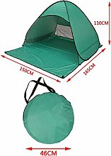 ACZZ Pop-Up Tents,Beach Tent Sun Protection Shade