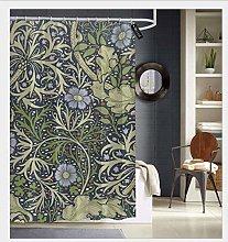 AdaCrazy William morris seaweed pattern Shower