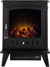 Adam Aviemore 2kW Electric Stove - Black