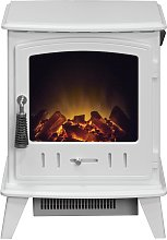 Adam Aviemore 2kW Electric Stove - White