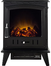 Adam Aviemore Black Electric Stove - 13672