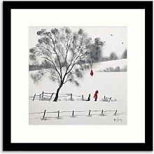 Adam Barsby - Red Kite Framed Print & Mount, 54.5