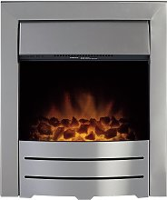 Adam Colorado 2kW Electric Inset Fire - Brushed