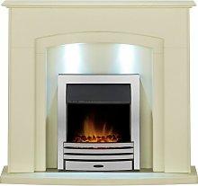 Adam Falmouth Surround Fireplace Stove Fire Heater