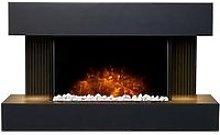 Adam Fires & Fireplaces Adam Manola Wall Hung