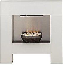 Adam Fires & Fireplaces Cubist Electric Fireplace