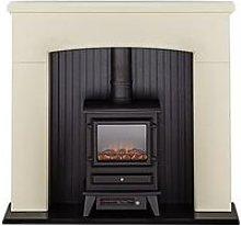 Adam Fires & Fireplaces Denbury Electric Fireplace
