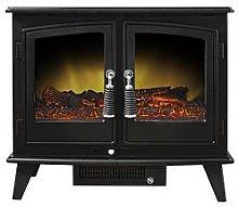 Adam Fires & Fireplaces Woodhouse Double Door