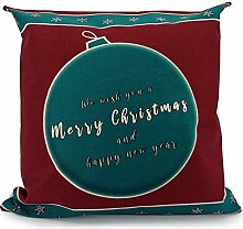 Adam Home Christmas Cushion Covers (1 Pack, BAUBLE