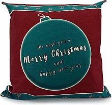 Adam Home Christmas Cushion Covers (1 Pack, Merry