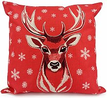 Adam Home Christmas Cushion Covers (1 Pack, REIN