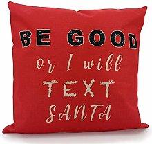 Adam Home Christmas Cushion Covers (1 Pack, Santa)