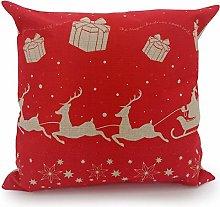 Adam Home Christmas Cushion Covers (1 Pack, SANTA