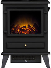 Adam Hudson Black Electric Stove - 13300