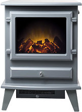 Adam Hudson Grey Electric Stove - 22525