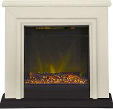 Adam Kensington Stone Effect Electric Fireplace