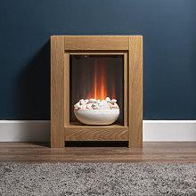 Adam Monet Oak Electric Fireplace Suite - 21708