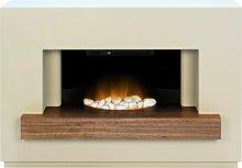 Adam Sambro Stone Fireplace Suite Electric Fire