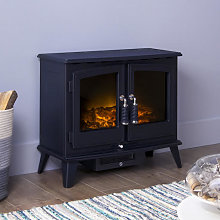 Adam Woodhouse Black Electric Stove - 13369