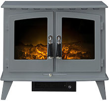Adam Woodhouse Grey Electric Stove - 22618