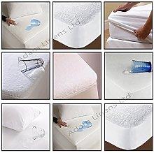 Adams Linens Waterproof Terry Towel Mattress