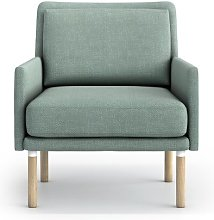 Adan Armchair Mikado Living Upholstery Colour: Mint